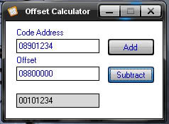 Offset Calculator